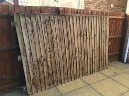 Fence Panel 106 5 X 65 Vertical Feathered Edge With 3 Horizontal Reinforced Batons Located Le3 In Barwell Leicestershire Gumtree