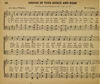 Thrust in your sickle and reap | Hymnary.org