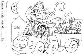 Maak Deze Sinterklaas Kleurplaat En Win