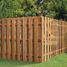 Outdoor Essentials 5 8 In X 6 In X 6 Ft Western Red Cedar Dog Ear Fence Picket 8 Pack 274479 The Home Depot