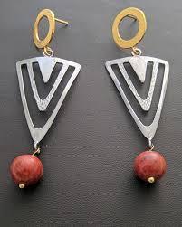 es 133 es 133 earrings with stones
