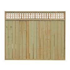 Semi Privacy Fence Panels Outdoor Essentials