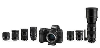 lenses with nikon z7 z6 and canon eos