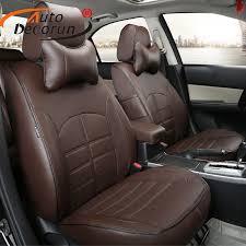 autodecorun pu leather car seat covers