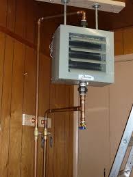 hydronic garage heater boiler controls