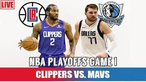 Dallas Mavericks vs LA Clippers Live Stream NBA Playoffs Game 1 ...