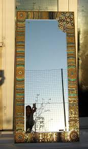 glass tile mosaic mirror fiona parkes