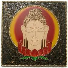 spiritual buddha wall decor wooden