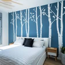 Vinyl Large Birch Tree Wall Decal For Living Room Bedroom Wall Decor Stickers Wish