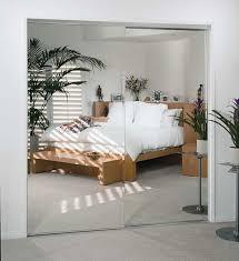 frameless beveled mirror slider