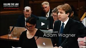 Adam Wagner - Killing The Law on Vimeo