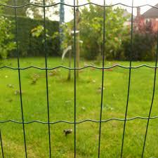 Border Fencing Green Pvc Fence Suregreen