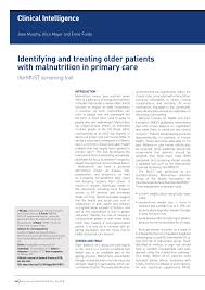identifying and treating older patients