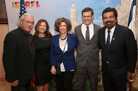 Edward James Olmos, George Lopez, David Siegel, Myra Clark-Siegel ...
