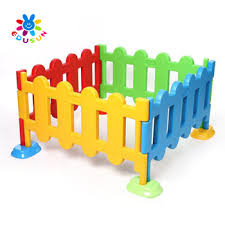 Kids Plastic Fence Kids Children Toys Safety Cheap Plastic Children Fence View Plastic Fence Edusun Product Details From Zhejiang Sunflower Educational Equipment Co Ltd On Alibaba Com