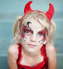 devil halloween face makeup ideas
