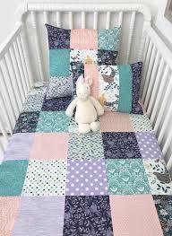 baby girl blanket patchwork quilt