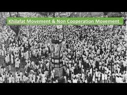Khilafat movement & Non Cooperation Movement in Hindi - YouTube
