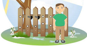 A Hole In The Fence Moral Stories For Kids Liz Story Planet