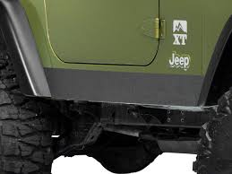 Sec10 Jeep Wrangler Rocker Body Shield Decal J100946 97 06 Jeep Wrangler Tj Excluding Unlimited