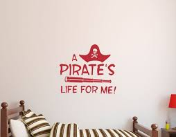 Kids Pirate Wall Decal Sticker Etsy