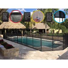 Waterwarden Waterwarden 4 Ft Pool Safety Fence In The Pool Safety Barrier Panels Department At Lowes Com