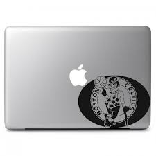 Nba Boston Celtics Logo Apple Macbook Air Pro 11 13 15 17 Vinyl Decal Sticker Dreamy Jumpers