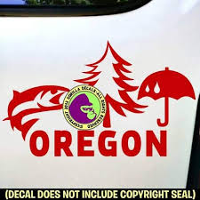 Amazon Com Oregon State Portland Eugene Medford Bend Vinyl Decal Sticker D Handmade