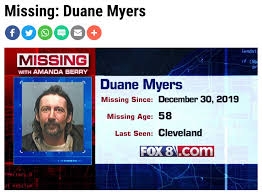 Duane Myers lives in Florida but was... - Missing Persons Cases Network |  Facebook