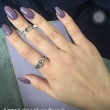 almond shape acrylic nail designs