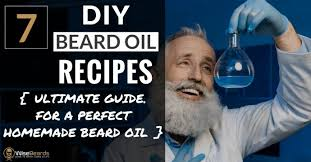 7 do it yourself beard oil recipes