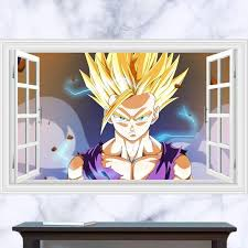 Dragon Ball Wall Stickers The Treasure Thrift