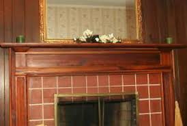 fireplace brick with granite tile