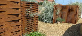 Woven Steel Fencing Installed By Steelscapes Norfolk