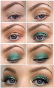green gold makeup tutorial