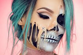 the best halloween makeup on insram