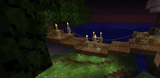 Just Realized You Can Use Leads And Fence Posts To Make Ropes For A Bridge Minecraft Minecraft Construction Minecraft Architecture Minecraft Blueprints