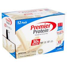 vanilla high protein shake
