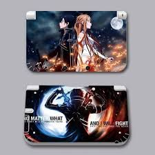 Sword Art Online Asuna Vinyl Decal Skin Sticker Cover Nintendo 3ds Xl Ll Ide