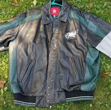 philadelphia eagles leather jacket