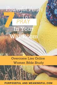 Overcome Lies 7 Powerful Verses To Pray In Your War Room Today P M