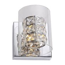 glass cover crystal wall sconce zp49