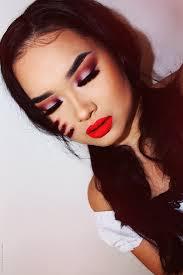 red riding hood makeup look
