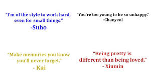 exo quotes about changing your life