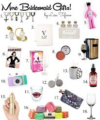 creative bridesmaid gift ideas part ii