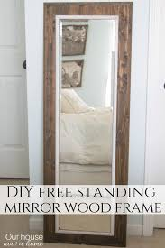 easy to make diy mirror frame our