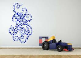 Octopus Sea Creature Ocean Nautical Theme Wall Sticker Vinyl Decal Decor Zx1487 Ebay