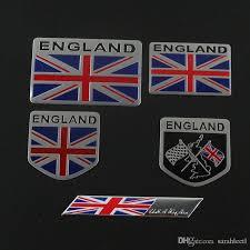 2020 Car Auto Trunk Suv England Flag Aluminum Sticker Emblem Badge Decal United Kingdom From Sarahleetl 7 43 Dhgate Com