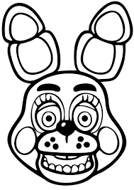 Buy Bonnie Five Nights At Freddys Vinyl Die Cut Decal White Sticker 5 Width By 7 5 Height In Cheap Price On Alibaba Com