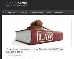 truehope threatens critic natasha tracy